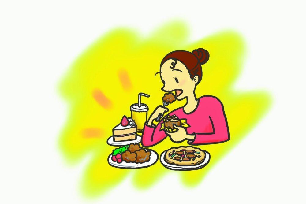 境界性・過食